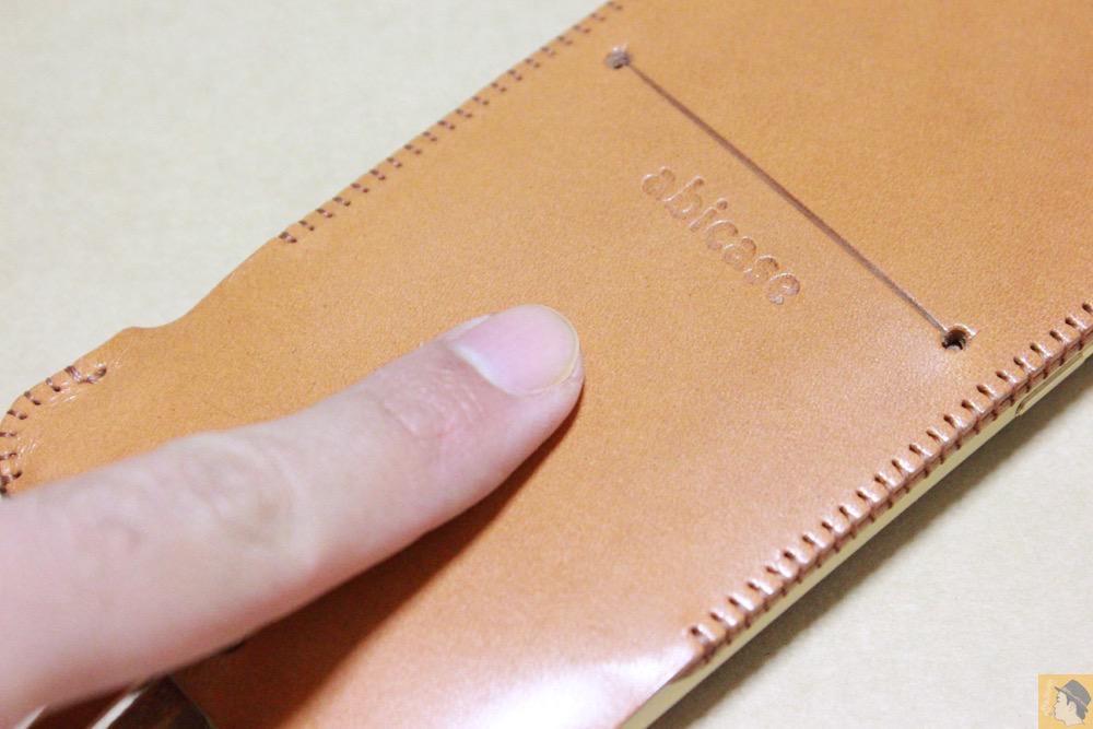 極上の質感 - 銀面が極上の質感のabicase アビケースはiPhoneケースとして使うのがもったいない仕上がり / iPhone 6/6s [レビュー 40/40]