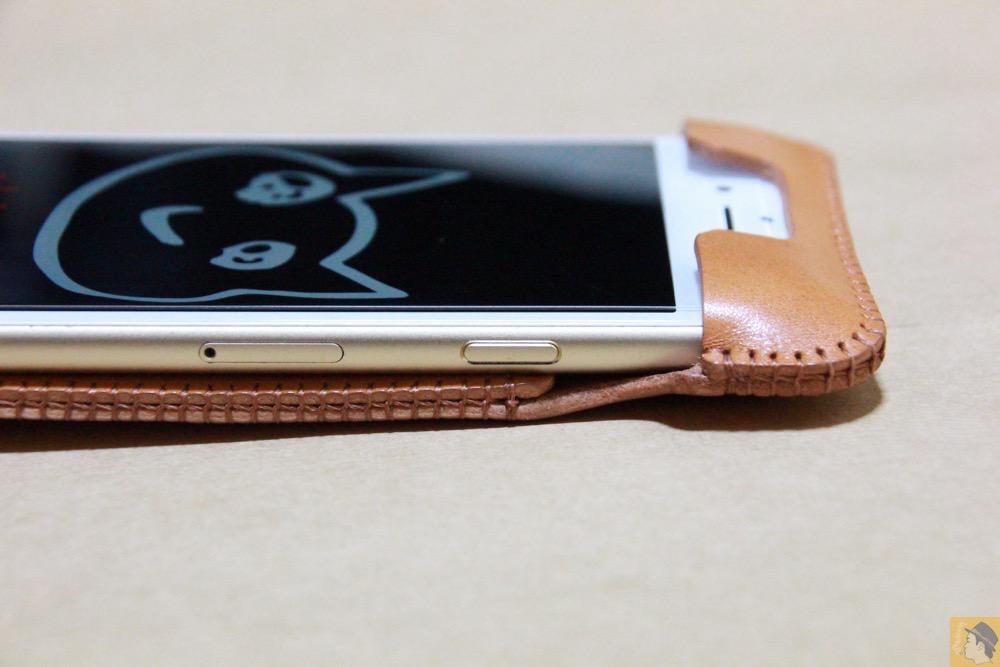 スリ-プボタン - 銀面が極上の質感のabicase アビケースはiPhoneケースとして使うのがもったいない仕上がり / iPhone 6/6s [レビュー 40/40]
