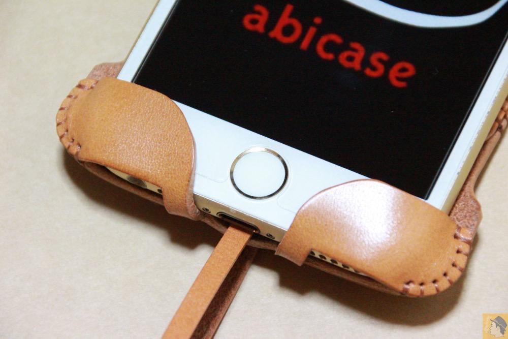 ホ-ムボタン - 銀面が極上の質感のabicase アビケースはiPhoneケースとして使うのがもったいない仕上がり / iPhone 6/6s [レビュー 40/40]
